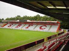Stevenage Borough FC - Football Ground